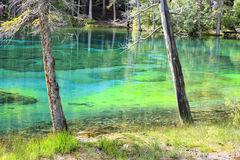 Grassi lakes Royalty Free Stock Photos