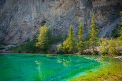 Grassi lakes.  Royalty Free Stock Photo