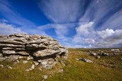 Grassington rock Arkivfoto
