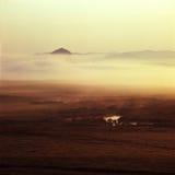 Grassland. Sun rise on  grassland , Bashang Royalty Free Stock Image