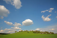 Grassland. Hills and grassland Royalty Free Stock Images