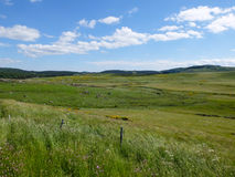 Grassland in the Cevennes mountains, France Stock Images