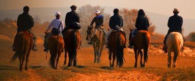 Grassland cowboy Royalty Free Stock Images