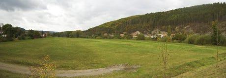 Grassland in Czech Republic Royalty Free Stock Photos