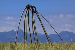 Grassland, Ecosystem, Sky, Prairie stock photography
