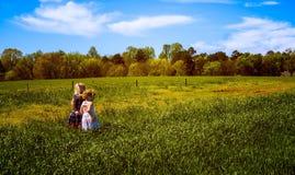 Grassland, Field, Sky, Prairie