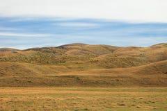 Grassland hills Stock Images