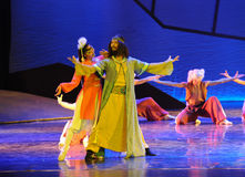 Grassland Kings-The dance drama The legend of the Condor Heroes Stock Images