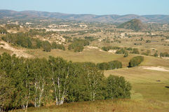 Grassland landscape Royalty Free Stock Photos