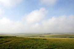 Grassland landscape Royalty Free Stock Images