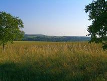 Grassland, Prairie, Sky, Field stock photo