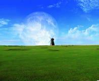Grassland, Sky, Green, Ecosystem Royalty Free Stock Photography