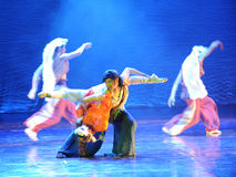 The grasslands ballet-The dance drama The legend of the Condor Heroes Royalty Free Stock Image