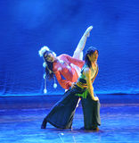 The grasslands ballet-The dance drama The legend of the Condor Heroes Stock Photos