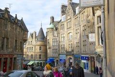 Grassmarket, Эдинбург Стоковое Фото