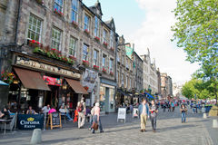 The Grassmarket, Edinburgh Royalty Free Stock Image
