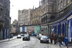 Grassmarket, Edinburgh Royalty-vrije Stock Afbeelding