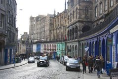Grassmarket, Edinburgh Royalty Free Stock Image