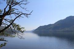 Grassmere的湖 库存照片