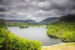 Grassmere and the Fells Royalty Free Stock Images
