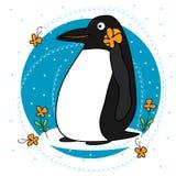 Grasso del pinguino Immagini Stock