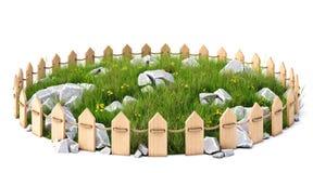 Grassplot stock illustration