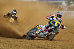 Grasstrack riders Stock Image