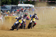 Grasstrack worls cup racers Royalty Free Stock Photography