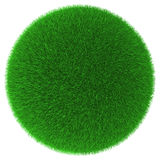 Grassy ball object Stock Images