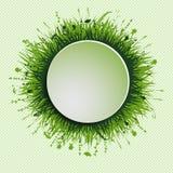 Grassy circle Stock Image
