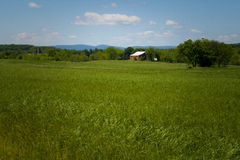 Grassy Farmland Royalty Free Stock Photos