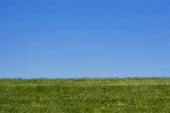 Grassy Hill Background Stock Image