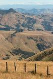 Grassy hills at Banks Peninsula Stock Photography