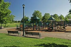 Grassy Park Playground Royalty Free Stock Photo