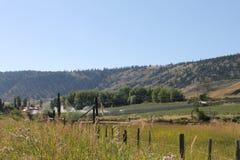 Free Grassy Ranchlands Cariboo Landscape Stock Image - 108927661