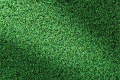 Grastextuur of grasachtergrond groen gras voor golfcursus, voetbalgebied of sporten achtergrondconceptontwerp stock afbeelding