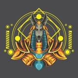 Great anubis royalty free illustration