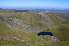 Grat, Skalen Tarn, Blencathra, Cumbria, Großbritannien stockfoto