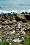 Grat w plaży Zdjęcia Royalty Free