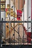 Grata all'entrata al balcone Fotografia Stock