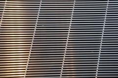 Grata di acciaio inossidabile per il fondo e la struttura fotografia stock libera da diritti
