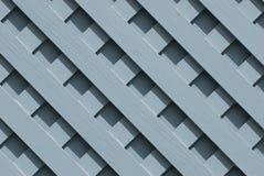 Grata di legno blu fotografie stock