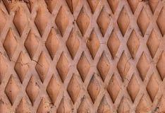 Grata di superficie di pietra Fotografie Stock