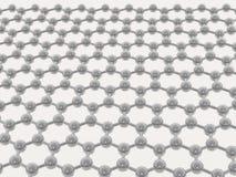 Grata molecolare beige su priorità bassa bianca royalty illustrazione gratis