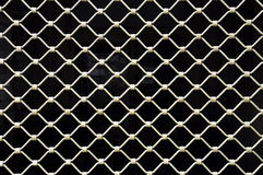 Grate. Security grate infron of the market place stock image