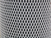 Grate. Diamond shaped metal pattern stock images
