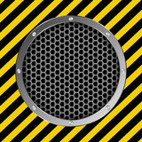 Grate background Stock Photos