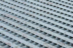 Grate of Drain cover Stock Image