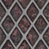 Grate on Granite. Seamless Texture Tile Royalty Free Stock Photos