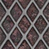 Grate on Granite. Seamless Texture Tile royalty free stock photos